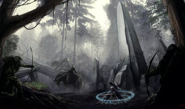 Forest of the Druids by Luches (Leos Ng Okita)
