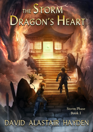 Cover of Storm Phase - Book 1: The Sorm Dragon's Heart by David Alastair Hayden