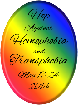 Badge Hop Against Homophobia and Transphobia 2014