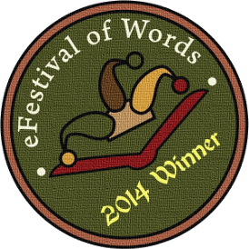 Badge nominee Efestival of Words - 2014