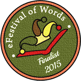 Badge nominee Efestival of Words - 2015