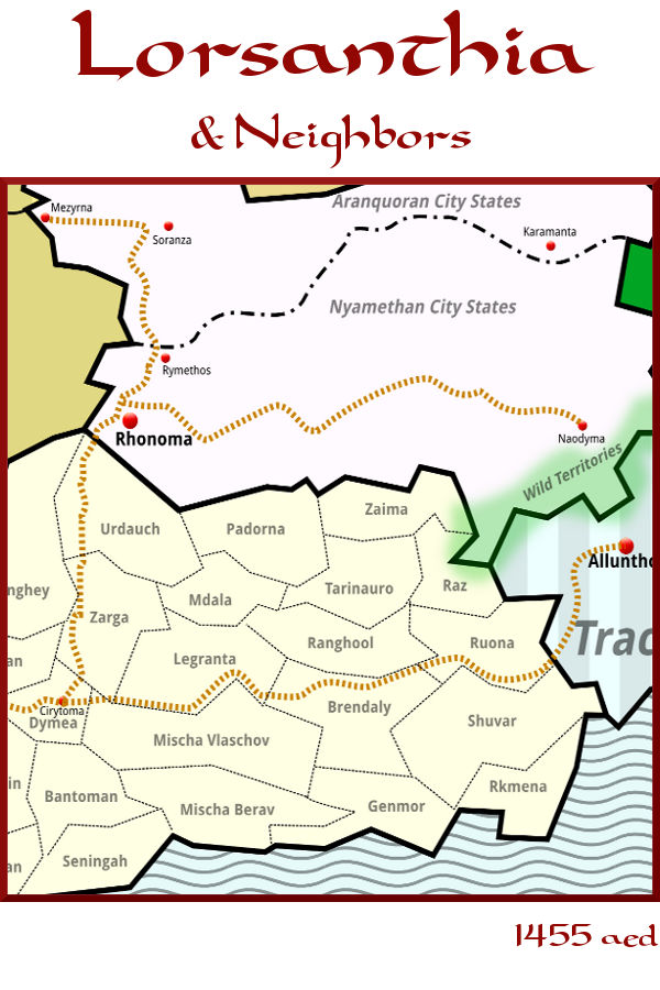 East Lorsanthia  — 1455 aed